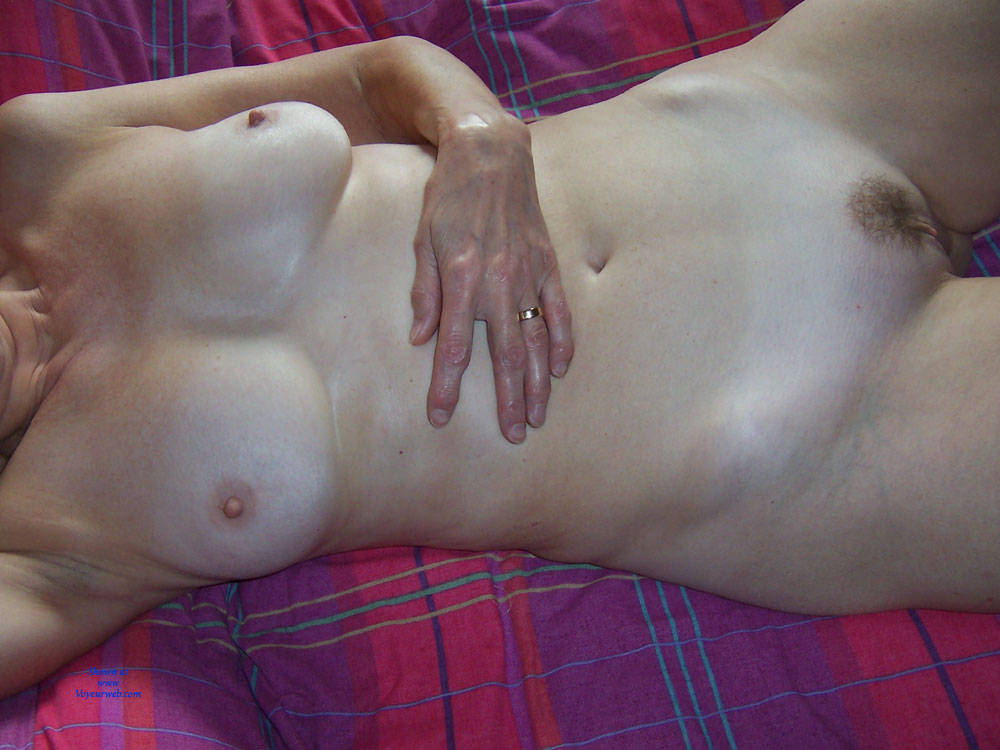 Pic #1 After Hubby Trimmed My Bush - Nude Wives, Big Tits, Bush Or Hairy, Amateur, Wet Tits