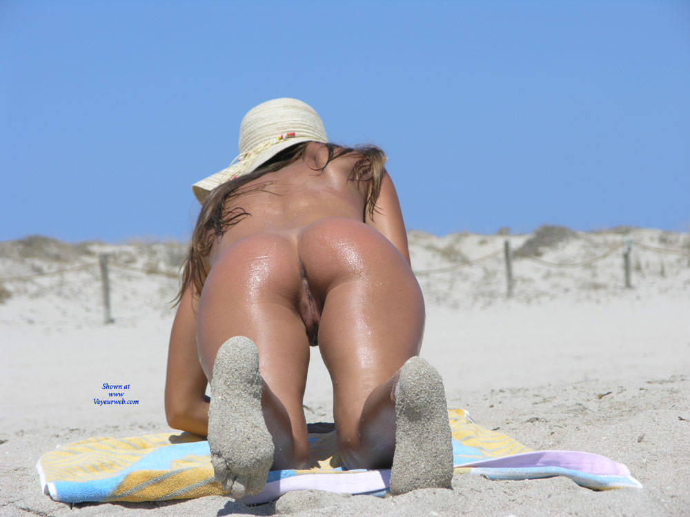 cum on beach girl
