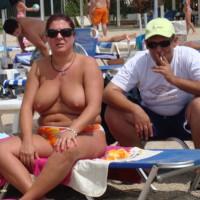 A Greek Girl At The Beach