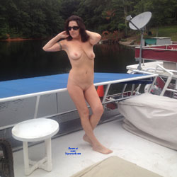 Fun On House Boat Deck - Nude Girls, Big Tits, Outdoors, Amateur