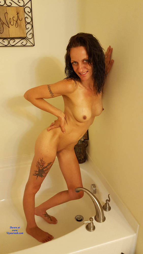 Pic #4 What You Asked For! - Nude Girls, Brunette, Shaved, Amateur, Tattoos