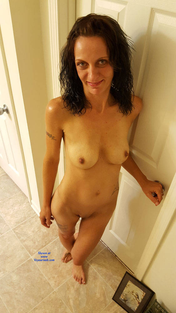 Pic #7 What You Asked For! - Nude Girls, Brunette, Shaved, Amateur, Tattoos