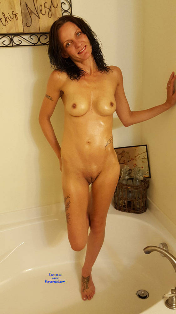 Pic #8 What You Asked For! - Nude Girls, Brunette, Shaved, Amateur, Tattoos