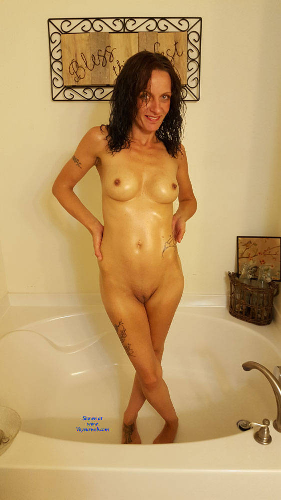 Pic #9 What You Asked For! - Nude Girls, Brunette, Shaved, Amateur, Tattoos