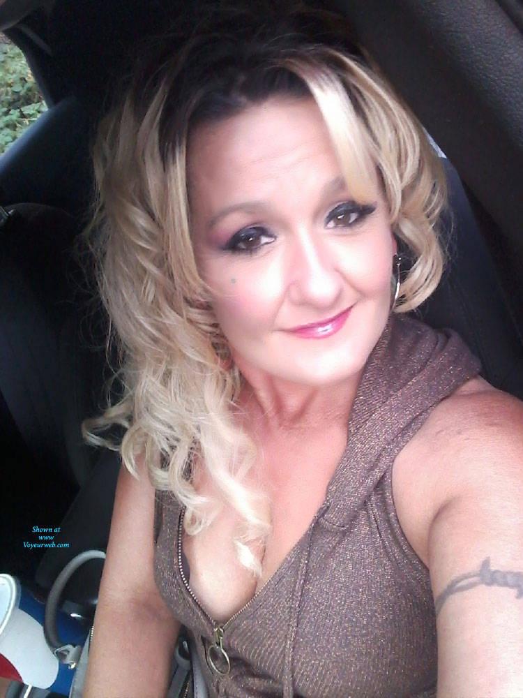 Pic #1 Feed Me Grapes  - Big Tits, Amateur, Tattoos