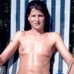 Ane P. - Beachgirl II - Topless Girls, Brunette, Outdoors, Small Tits, Amateur