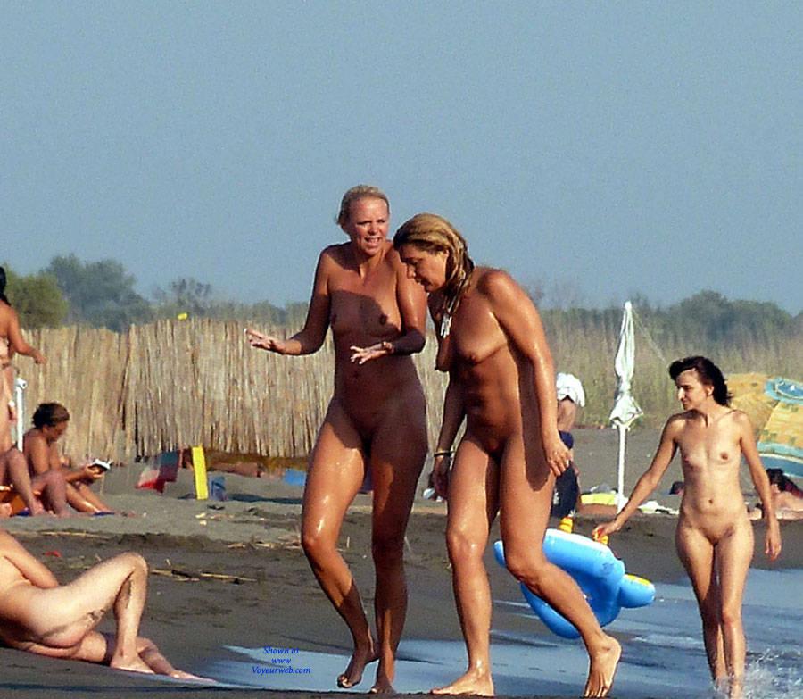 Pic #8 My Naturist Holidays Past Years - Nude Girls, Big Tits, Outdoors, Bush Or Hairy, Beach Voyeur