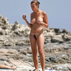 My Naturist Holidays Past Years - Nude Girls, Big Tits, Outdoors, Bush Or Hairy, Beach Voyeur