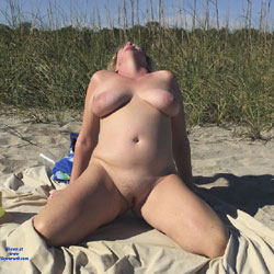 Tan Time - Nude Amateurs, Big Tits, Outdoors