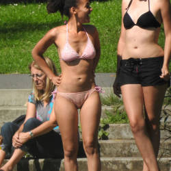 Pic #10 German Bikini Girls - Outdoors, Bikini Voyeur
