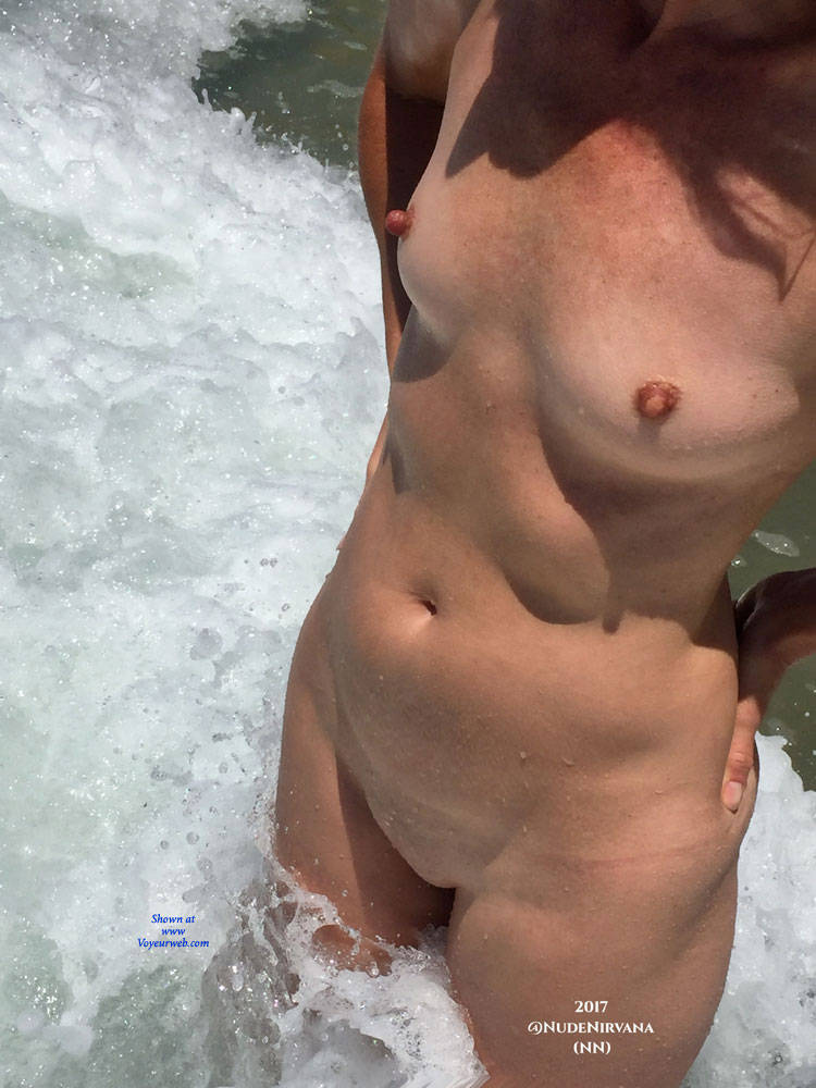 Pic #4 Nirvana Surf - Nude Amateurs, Outdoors, Small Tits, Firm Ass