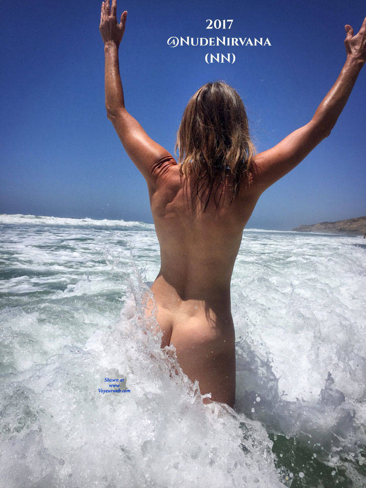 Pic #2 Nirvana Surf - Nude Amateurs, Outdoors, Small Tits, Firm Ass