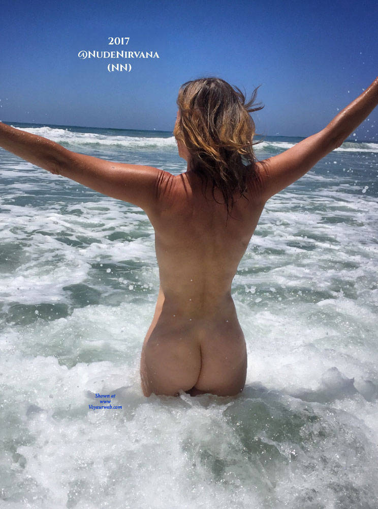 Pic #5 Nirvana Surf - Nude Amateurs, Outdoors, Small Tits, Firm Ass