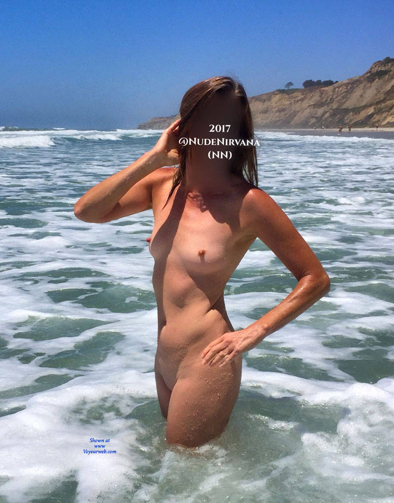 Pic #3 Nirvana Surf - Nude Amateurs, Outdoors, Small Tits, Firm Ass