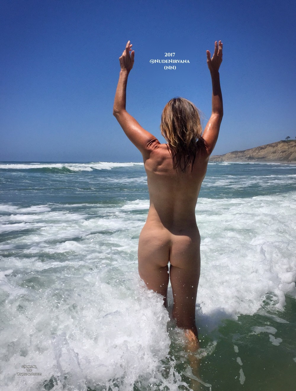 Pic #7 Nirvana Surf - Nude Amateurs, Outdoors, Small Tits, Firm Ass