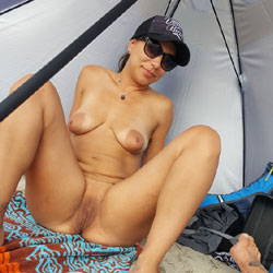 Just A Day At The Beach - Nude Girls, Beach, Big Tits, Outdoors, Shaved, Tattoos