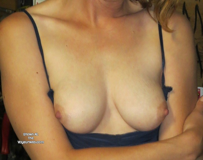 Pic #1 Medium tits of my wife - deeee