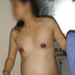 Knocked Up Shower! - Nude Wives, Bush Or Hairy, Amateur