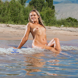 Issik-kul Seaside Fun - Nude Outdoors, Beach Voyeur, Nude Wife