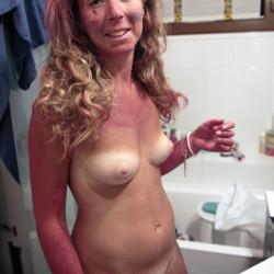 Very small tits of my wife - MaryMarz