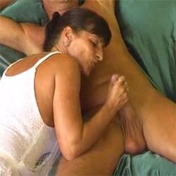 Geil Entsaftet - Brunette, Blowjob, Hand Job