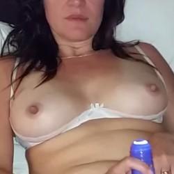 Medium tits of my ex-wife - Always Hard
