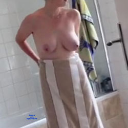 My Wife After A Shower - Big Tits, Wife/Wives, Amateur