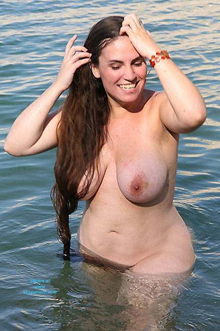 Share your Hairy naked women on a lake