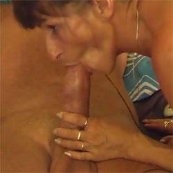 Stange Poliert - Nude Amateurs, Big Tits, Brunette, Blowjob