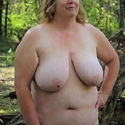 BBW Full Nude - Bbw, Big Tits, Outdoors, Nature, Amateur
