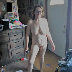 My Hot Wife Cathy - Topless Wives, Big Tits, Brunette, Amateur