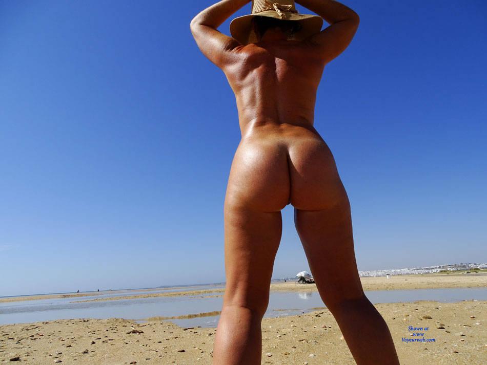 Pic #4 Semi-Nudist Beach - Nude Amateurs, Beach, Big Tits, Outdoors, Firm Ass