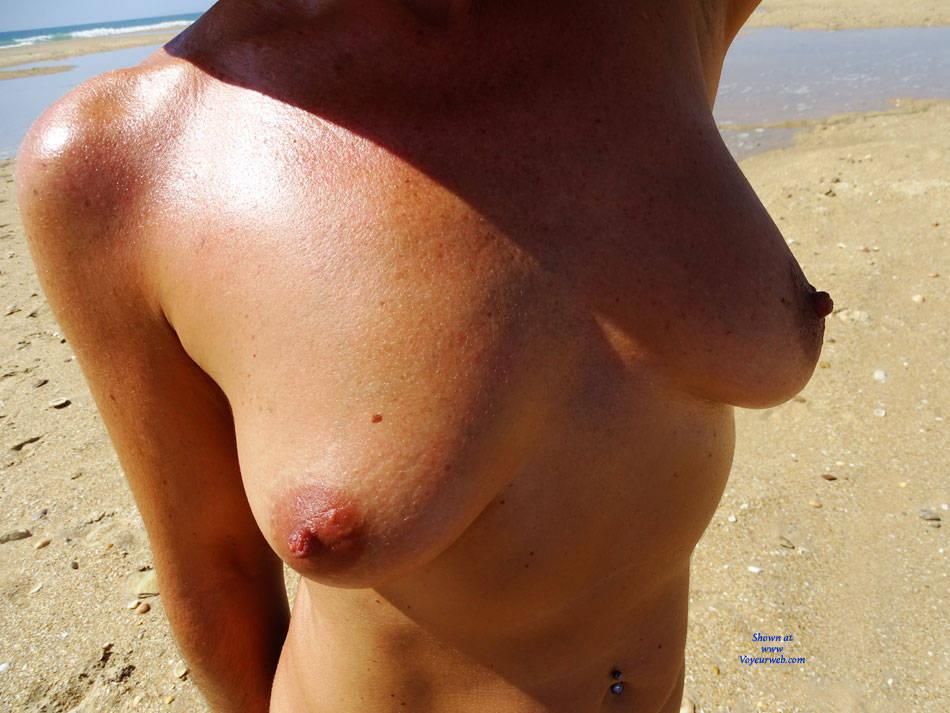 Pic #2 Semi-Nudist Beach - Nude Amateurs, Beach, Big Tits, Outdoors, Firm Ass