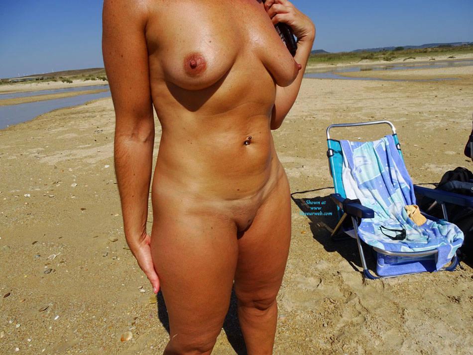 Pic #3 Semi-Nudist Beach - Nude Amateurs, Beach, Big Tits, Outdoors, Firm Ass