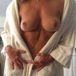 After The Shower - Big Tits, Amateur