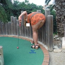 Mini Golf - Pantieless Girls, Outdoors, Amateur