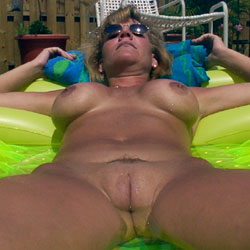 Toy Fun - Big Tits, Outdoors, Toys, Shaved, Amateur