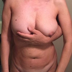 Large tits of my wife - Federica