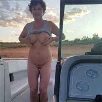 Dancing On The Boat 2 - Big Tits, Brunette, Outdoors, Amateur