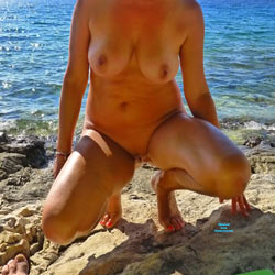 Busty Woman - Nude Amateurs, Big Tits, Outdoors