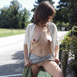 A Passeggio Senza Intimo - Big Tits, Blowjob, Outdoors, Amateur