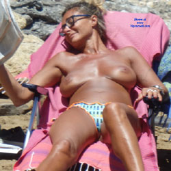 Misc - Nude Girls, Big Tits, Outdoors, Beach Voyeur