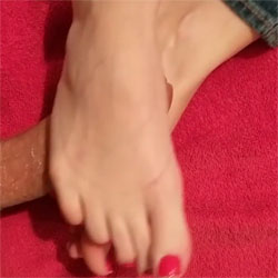 For Foot Fetish Fans - Foot Job, Amateur