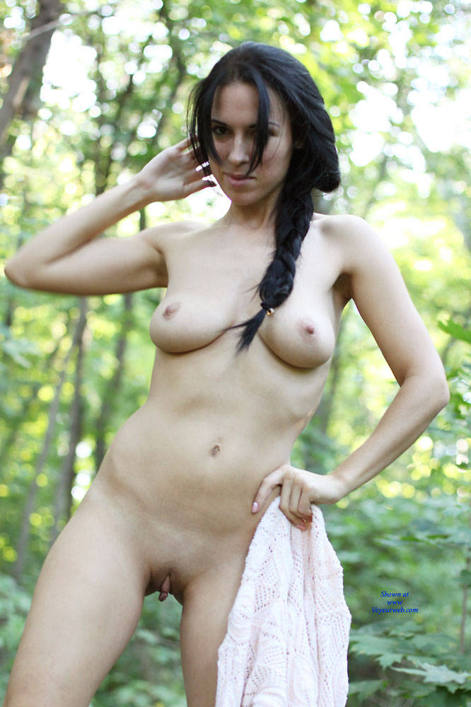 Pic #8 Alexa With Love - Nude Girls, Big Tits, Brunette, Outdoors, Shaved