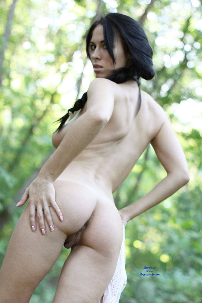 Pic #9 Alexa With Love - Nude Girls, Big Tits, Brunette, Outdoors, Shaved