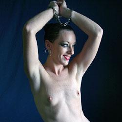 Wrist Bound - Nude Girls, Brunette, Small Tits