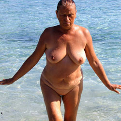 Holidays In Greece - Nude Wives, Beach, Big Tits, Outdoors, Amateur