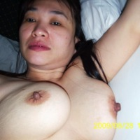 Extremely large tits of my ex-wife - vina