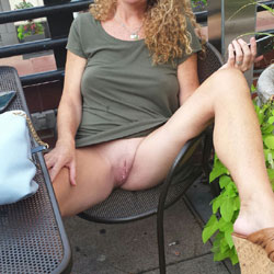 Around town - Pantieless Girls, Outdoors, Amateur