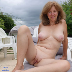 GILF Showing It All - Nude Amateurs, Big Tits, Outdoors, Shaved